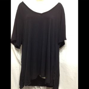 Women's size XXL OLD NAVY luxe v-neck tunic tee